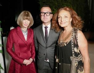 Anna Wintour, Steven Kolb, Diane von Furstenberg