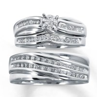 2018 Latest Trio Engagement Ring Sets