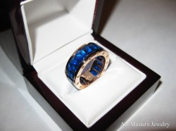 Small Of Mens Sapphire Rings