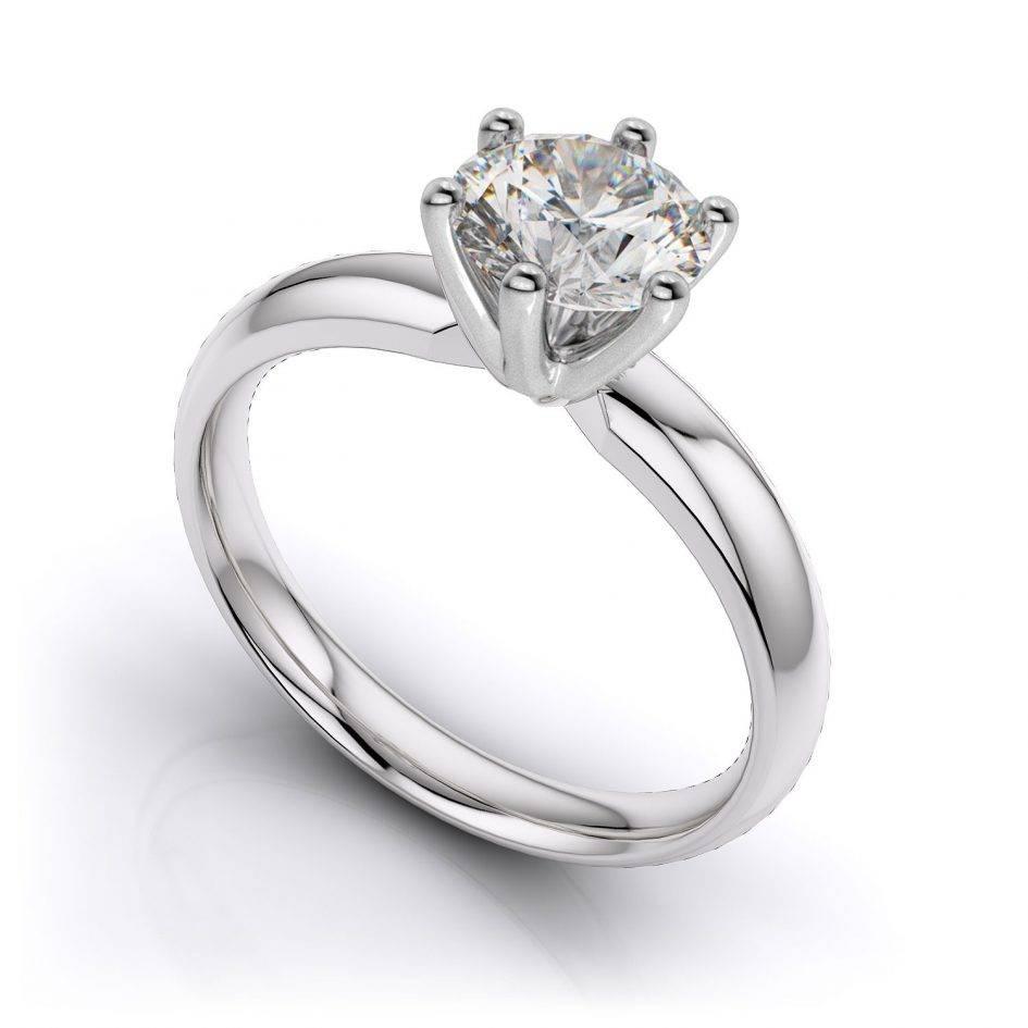 2019 Latest Platinum Engagement And Wedding Rings Sets