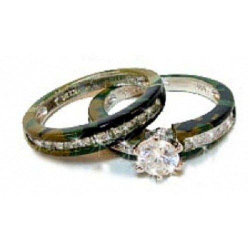 Medium Crop Of Camo Wedding Rings
