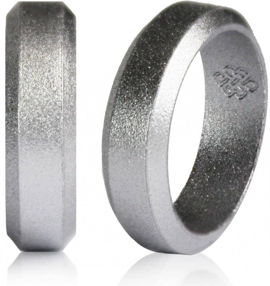 2018 Latest Silicone Wedding Bands