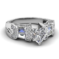 15 Photo of Wide Band Wedding Rings Sets