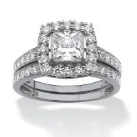 15 Best Ideas of Platinum Cubic Zirconia Wedding Rings