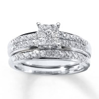 15 Collection of Inexpensive Diamond Wedding Ring Sets