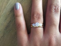 15 Best Collection of Three Stone Engagement Rings With ...
