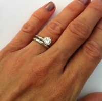 15 Best of Solitaire Rings With Wedding Band