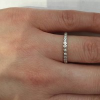 15 Collection of Bezel Set Engagement Rings With Wedding Bands