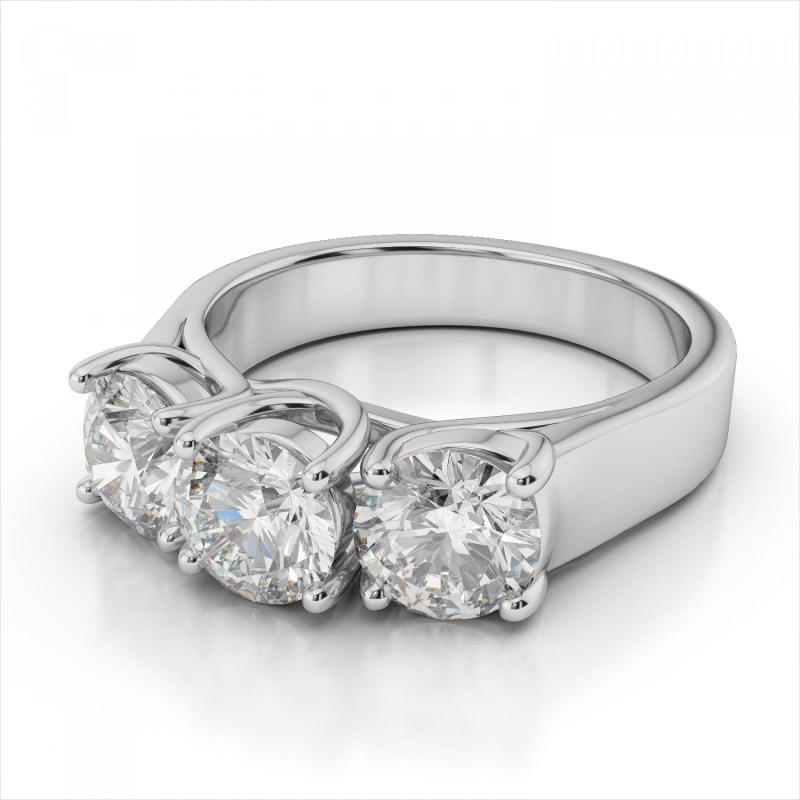 Large Of 3 Carat Diamond Ring