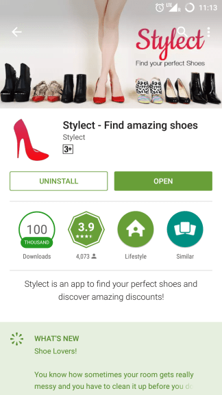 How to use Stylect app