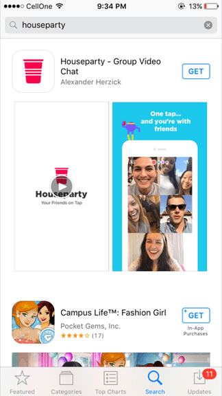 How to use Houseparty app?