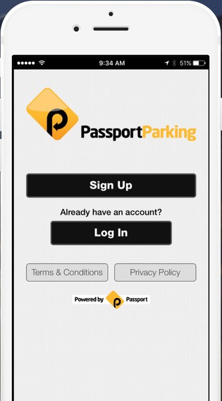 How to use Passport parking app