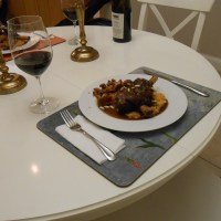 Braised Lamb Shanks Red Wine-Serrano Pepper Sauce and Sweet Potato Risotto.... And a rant on why you must buy the best ingredients you can
