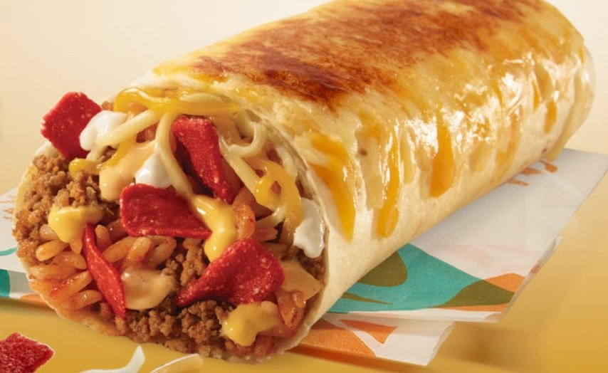 Taco Bell Releases New Grilled Cheese Burrito The Fast - Ticaa Möbel