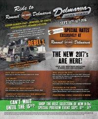 Rommel HD Delmarva Bike Week Schedule