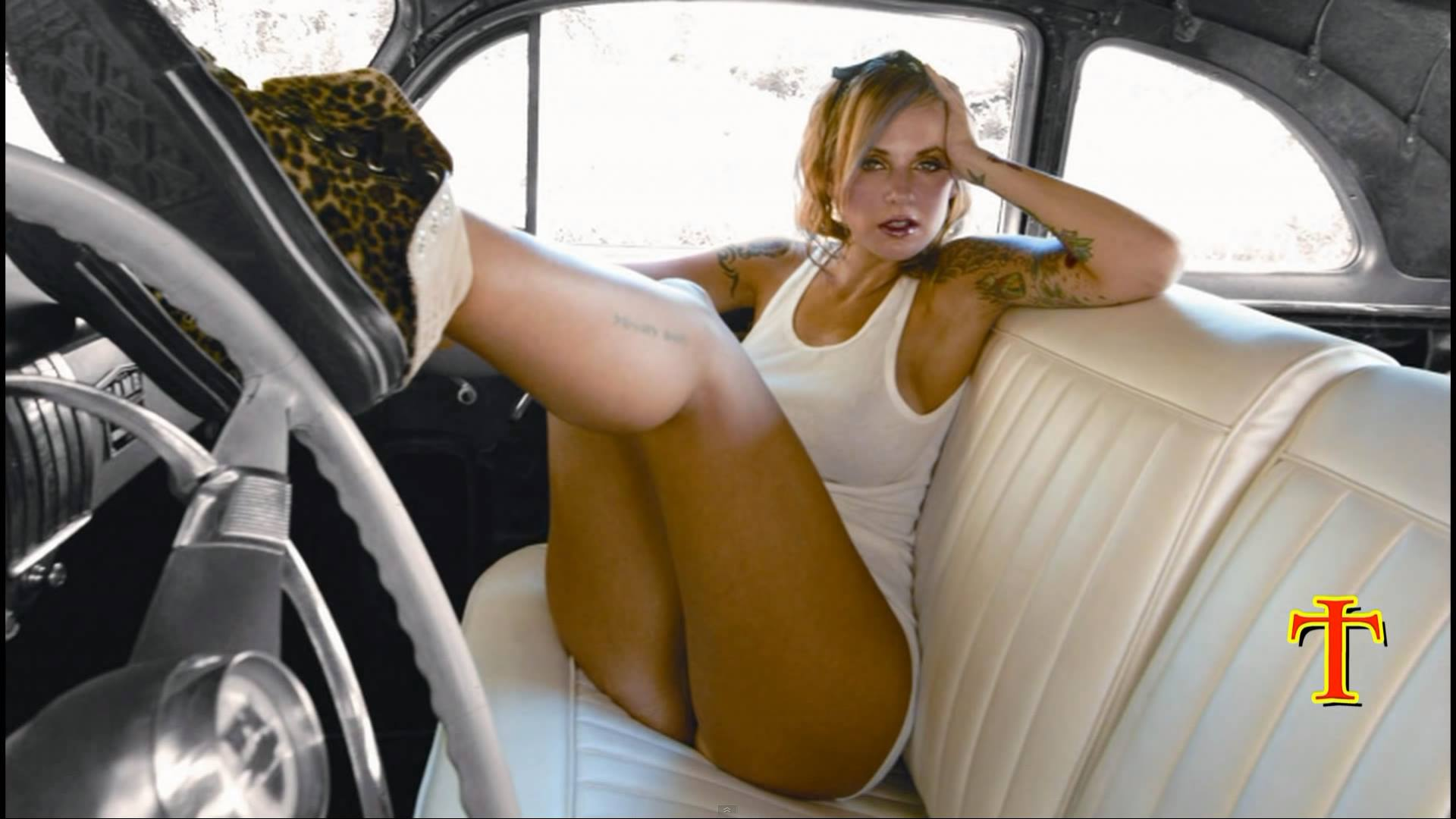 Tank Girl Wallpaper 4k Hot Country Girl Muscle Car