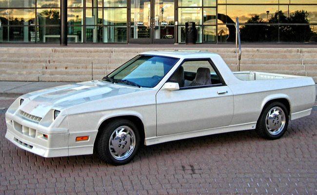 1984-Dodge-Rampage-14 Denver Acura
