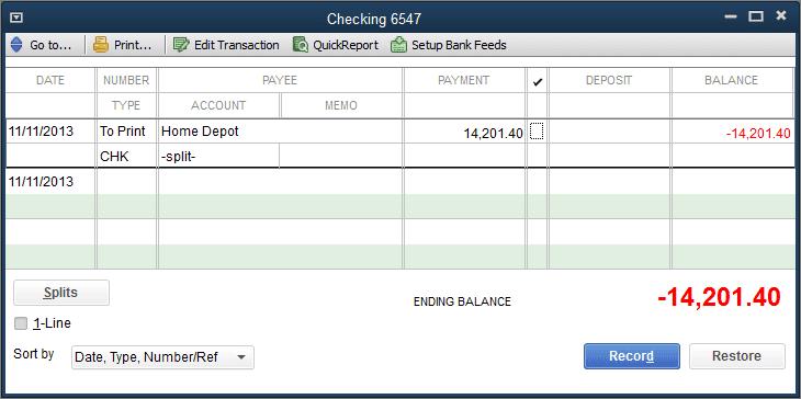 desktop check register