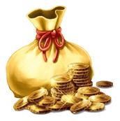 金のズダ袋