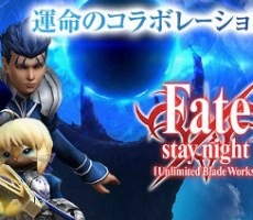 Fate staynight×MONSTERHUNTER EXPLORE コラボ