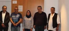 اقليم حركة فتح الدنمارك يلتقي الاخت هيثم عرار عضو المجلس الثوري لحركة فتح