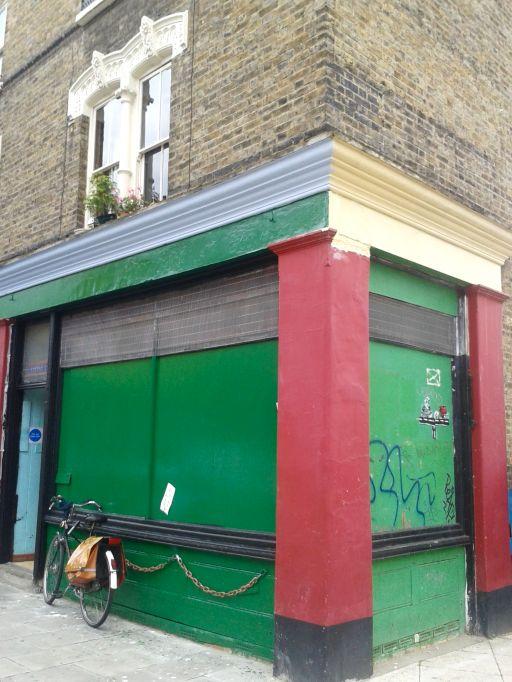 Unassuming shop front