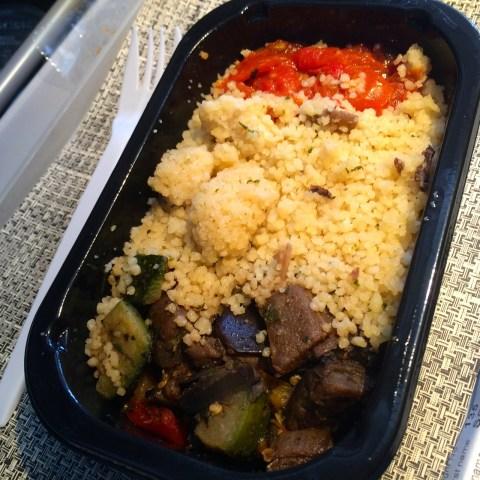 american airlines vegan meal