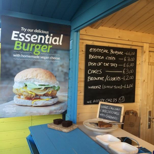 essential vegan burger shoreditch menu