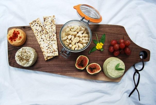 Cheese board full