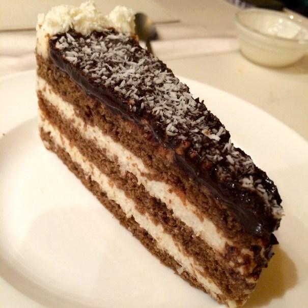 cake slice choco