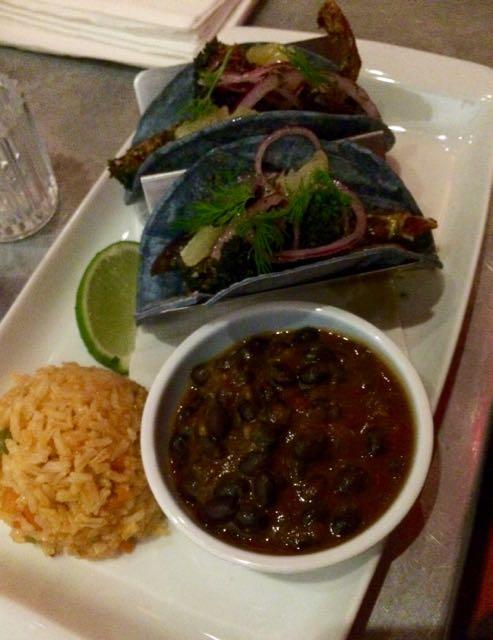 Bar Bombon - broccoli tacos