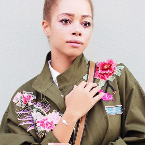 fatimayarie-green-flowers-jacket-embroidered-lancel-whitedress-baroccissima-bracelet-cut1-img_4206