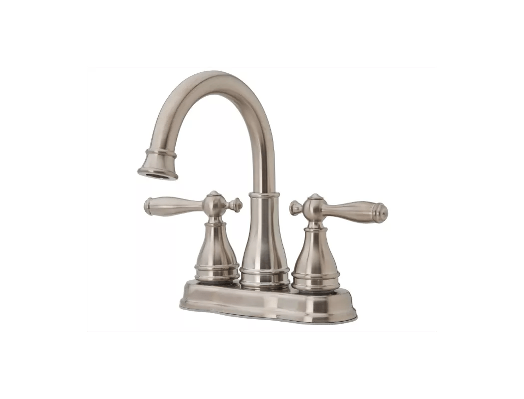 Brushed Nickel Bathroom Faucets Clearance Faucet F Wl2 450k In Brushed Nickel By Pfister