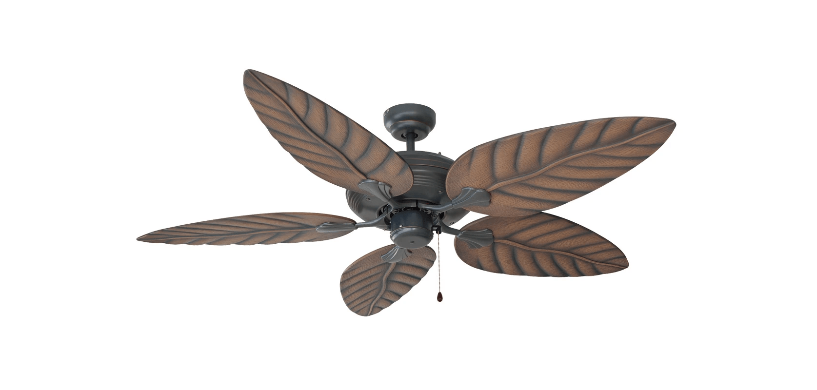 Leaf Ceiling Fan Blades Design House 154104 Oil Rubbed Bronze 52 Quot 5 Blade Ceiling