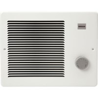 Broan 174 White Small Electric Wall Mounted Heater with ...