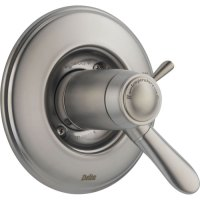 Delta Lahara Stainless Steel Thermostatic Shower Valve