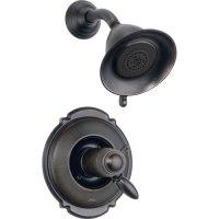 Delta Victorian Venetian Bronze Thermostatic Shower Faucet