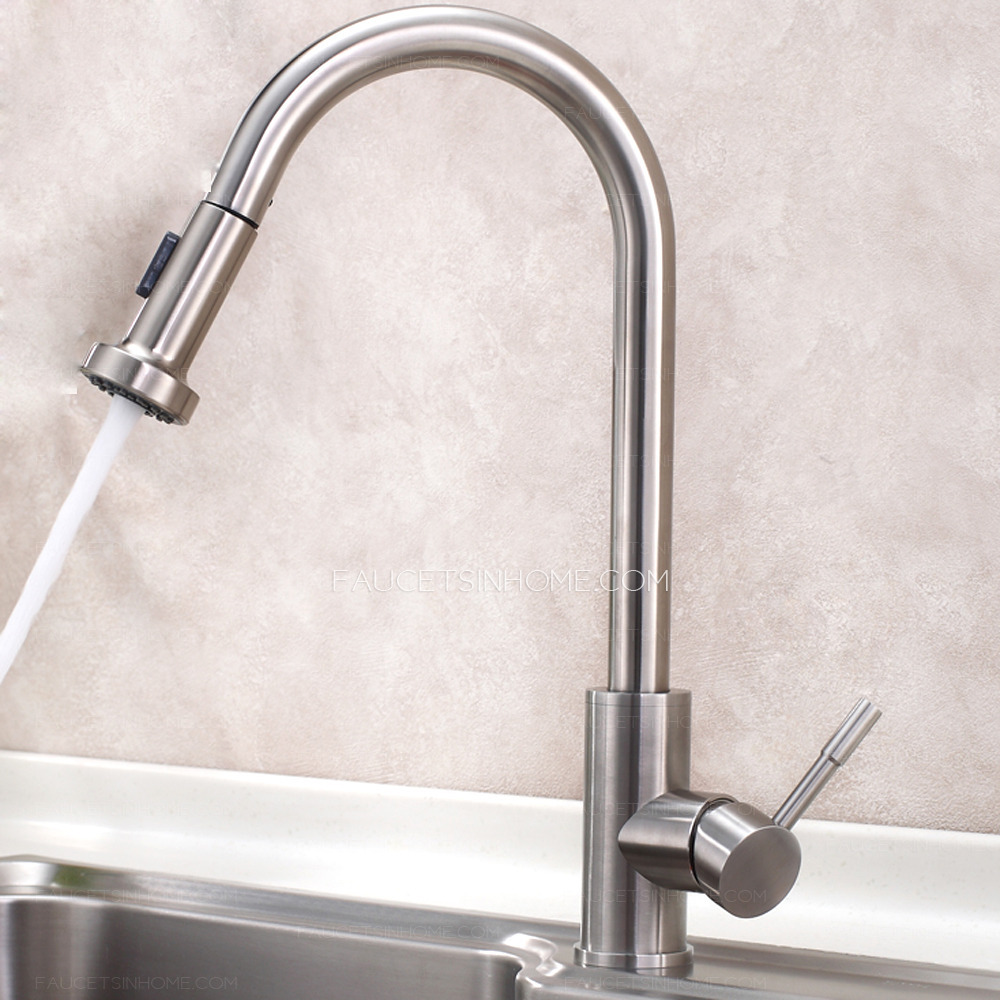Designer Kitchen Faucets Designer Pull Out Stainless Steel Best Kitchen Faucets