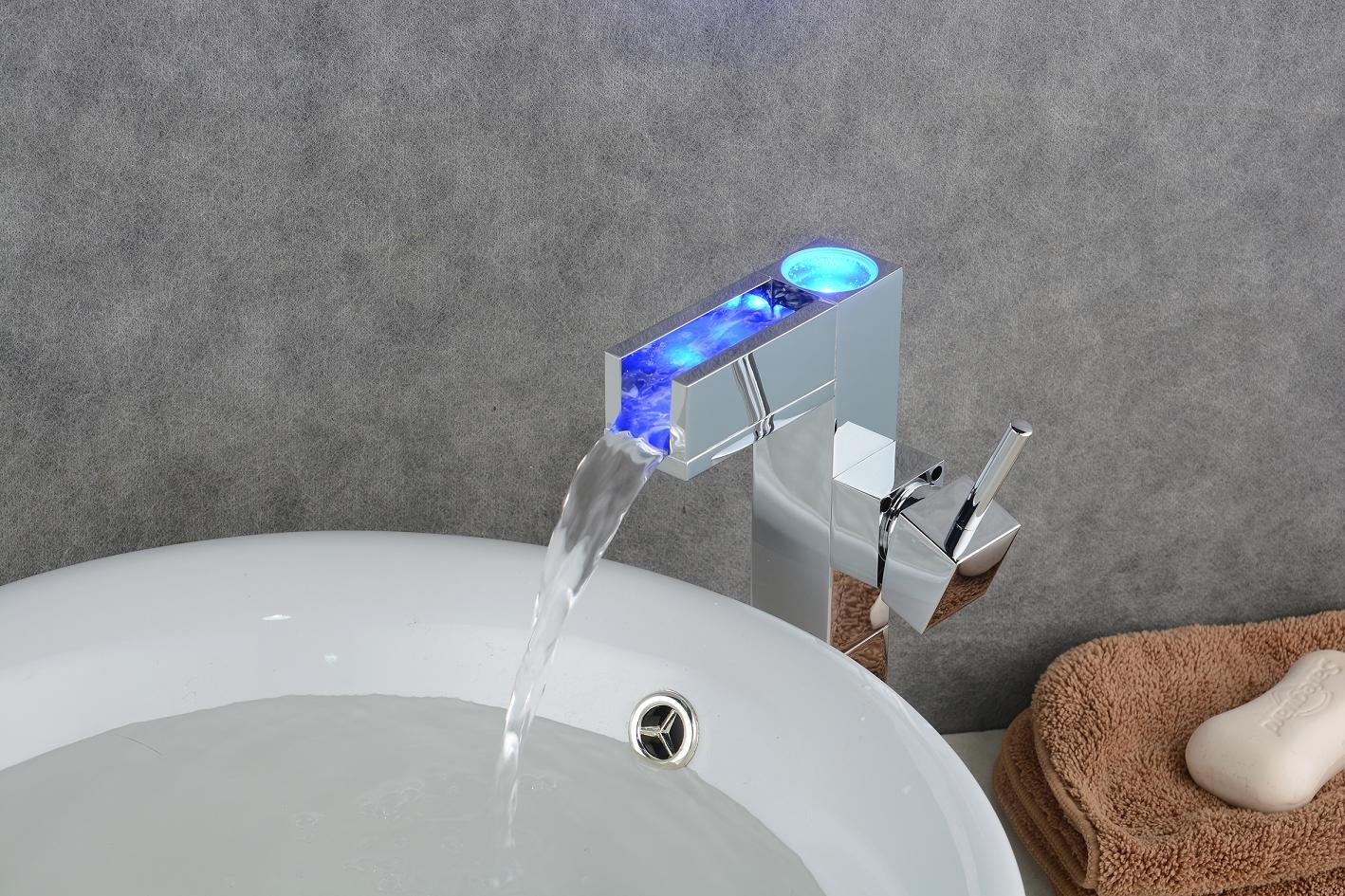 Led Faucets Led Bathroom Sink Faucet Simple Shellburg Wall Mounted