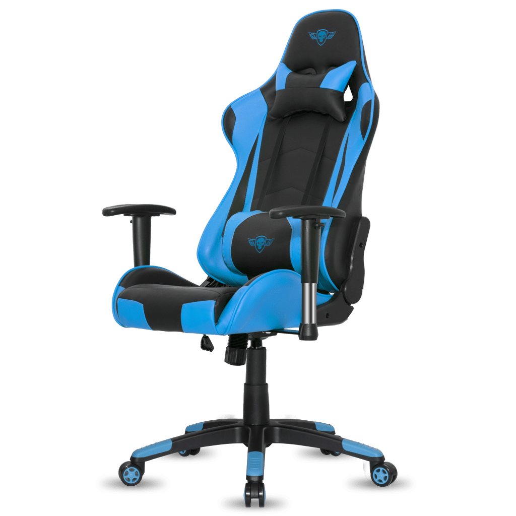 Promo Chaise Gamer Fauteuil E Sport Spirit Of Gamer Demon Noir Et Bleu
