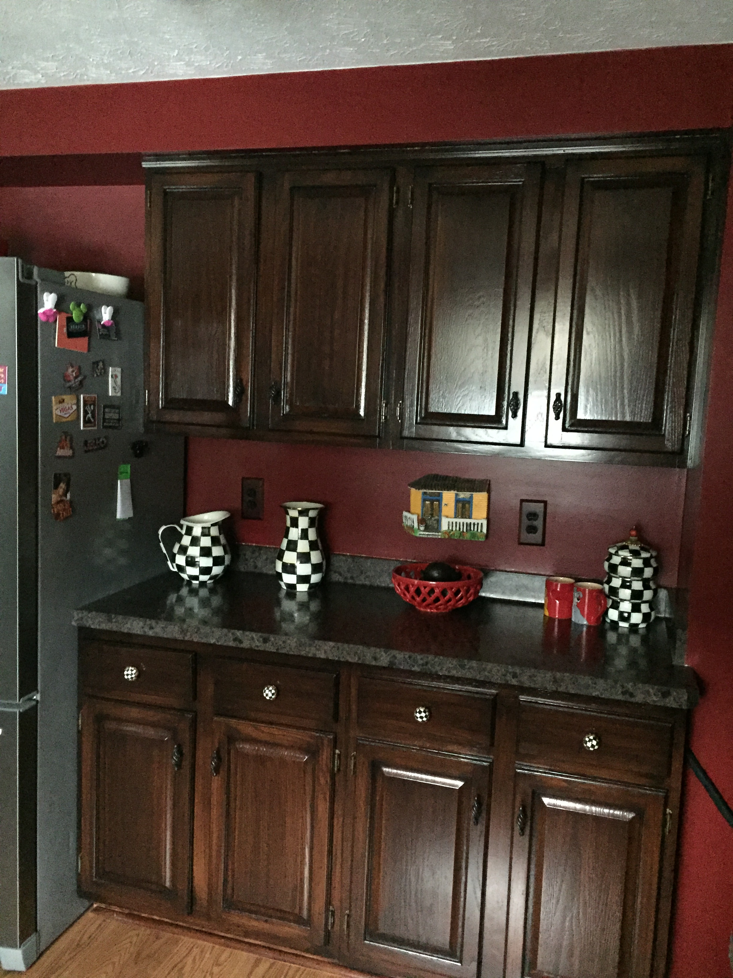 Crackle Paint Kitchen Cabinets Cabinets And Furniture Faux Illusions Painting