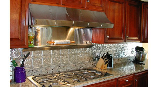 kitchen backsplash ideas decorative tin tiles metal backsplash kitchens brick backsplash brick wallpaper kitchen kitchen ideas