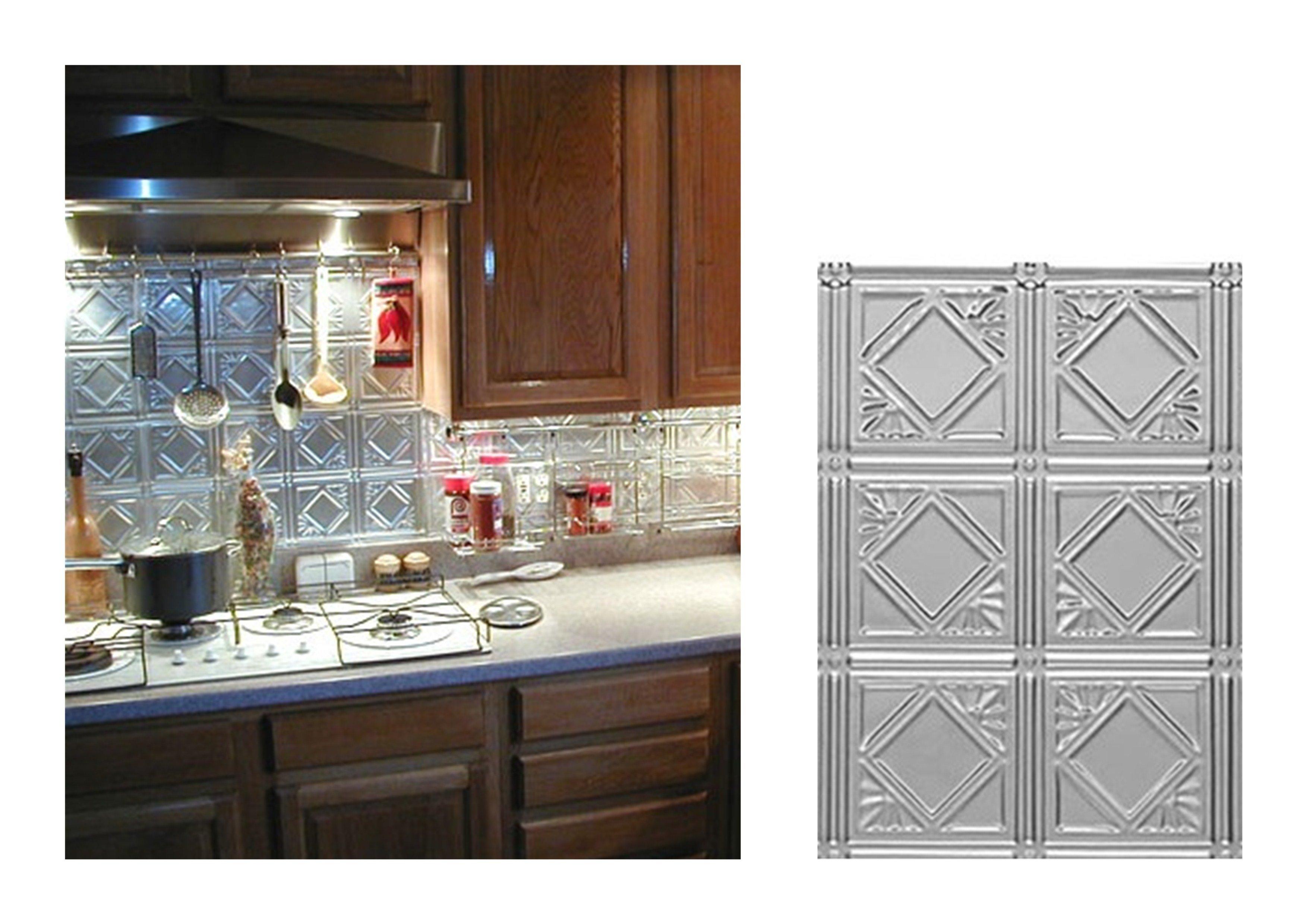 kitchen diamondback square metal backsplash decorative ceiling interior designs modern kitchen backsplash ideas metal tile options