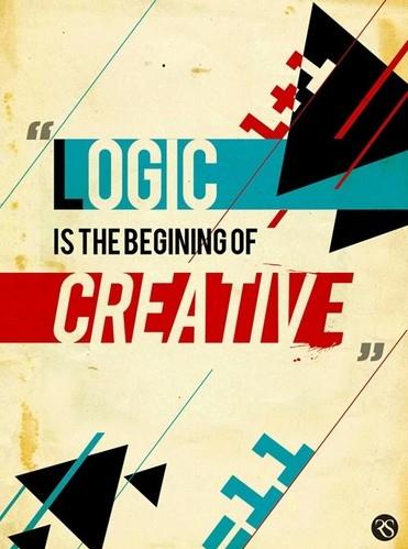 Logic Wallpaper Iphone 6 Composition Creative Creativity Design Font Graphic