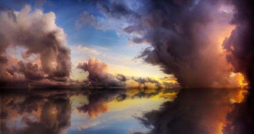 Iphone X Wallpaper Gif Landscape Amazing Cloud Clouds Colorful Colors Colour Image