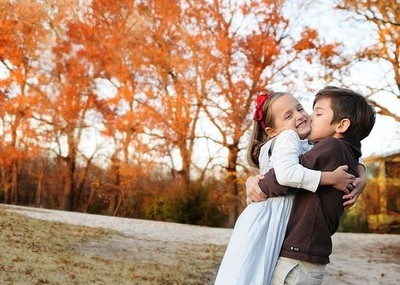 Girl Propose To Boy Wallpaper With Quotes Autumn Boy Child Children Childrens Cute Image
