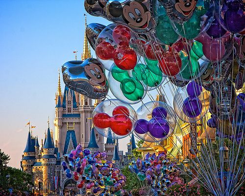Cute Minnie Mouse Wallpaper Balloon Castle Colorful Disney Fashion Mickey Image