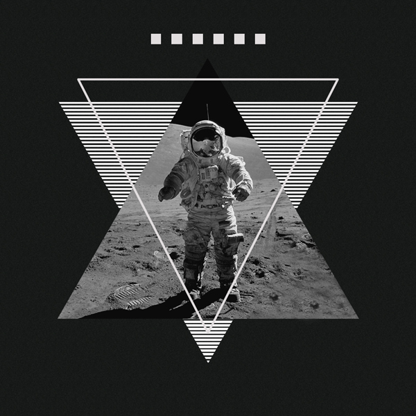 Muse 2nd Law Iphone Wallpaper Art Astronaut Black Contemporary Design Grid Image
