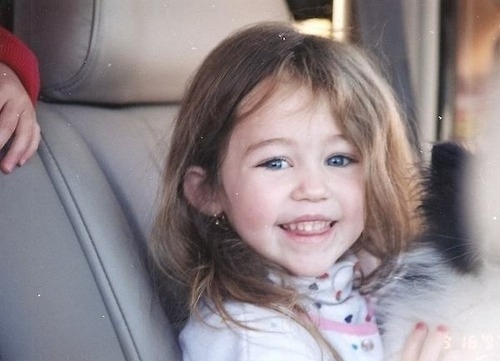 Daddys Girl Wallpaper Adoreble Baby Miley Bob Miley Of The Past Image