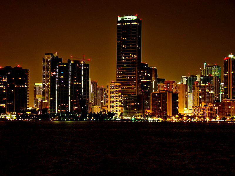 Arrow Wallpaper Cute Miami Beach Night City Lights Beautiful View Fav